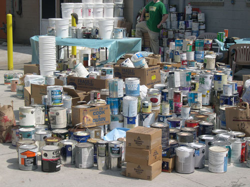Nh get rid of your junk tip old paint cans for How to dispose of empty paint cans